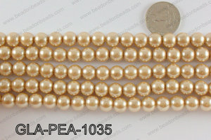 GLASS PEARL 10MM GLA-PEA-1035
