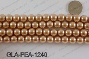 GLASS PEARL 12MM GLA-PEA-1240