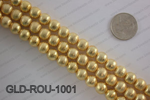 Gold plated copper round beads 10mmGLD-ROU-1001