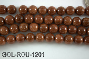 Gold Stone Round 12mm GOL-ROU-1201