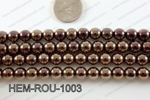 Hematite Round Brown 10mm HEM-ROU-1003