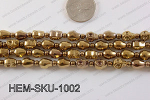 Hematite Skull Brown 10mm HEM-SKU-1002
