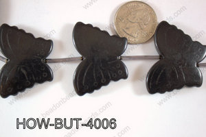 Howlite Butterfly 40x30mm HOW-BUT-4006