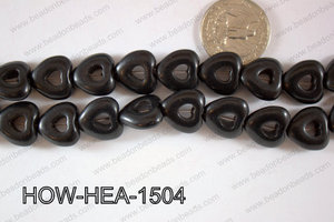 Howlite Heart 16mm HOW-HEA-1504