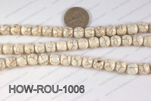 Howlite Round White 10mm HOW-ROU-1006