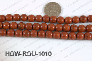 Howlite Round Brown 10mm HOW-ROU-1010