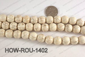 Howlite Round White 14mm HOW-ROU-1402