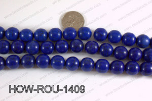 Howlite Round Dark Blue 14mm HOW-ROU-1409