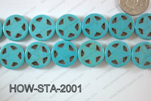 Howlite Star 20mm HOW-STA-2001