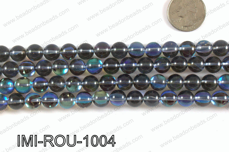 Imitation Labradorite 10mm IMI-ROU-1004