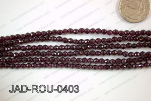 Jade Faceted Round 4mm JAD-ROU-0403