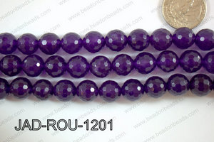 Jade Faceted Round 12mm JAD-ROU-1201