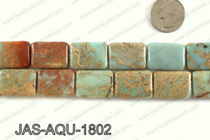 JASPER AQUA TERRA RECTANGLE 18 X25 MM JAS-AQU-1802