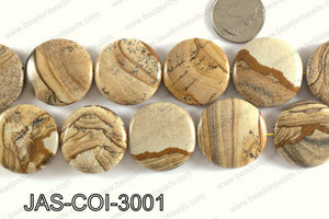 Picture Jasper Coin 30mm JAS-COI-3001