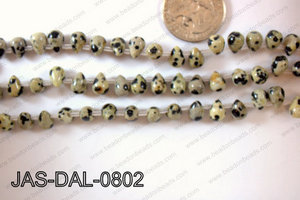 Dalmation Jasper Teardrop 6x8mm JAS-DAL-0802