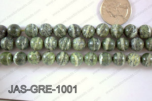 Jasper Green Round  10mm JAS-GRE-1001
