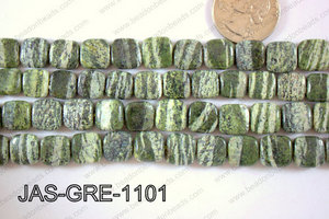 Jasper Green Square 11mm JAS-GRE-1101