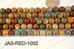 Red Creek Jasper Round 10mm JAS-RED-1002