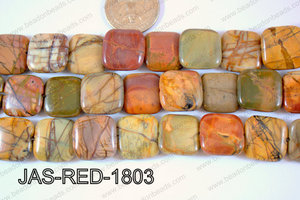 Red Creek Jasper Square 20mm JAS-RED-1803