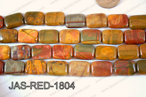 Red Creek Jasper Rectangle 13x18mm JAS-RED-1804