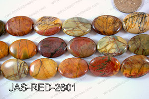 Jasper Red Creek Oval 18x25mm JAS-RED-2601