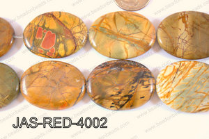 Red Creek Jasper Oval 30x40mm JAS-RED-4002