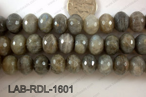 Labradorite Faceted Rondel 16mm LAB-RDL-1601
