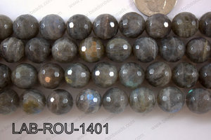 Labradorite Faceted Round 14mm LAB-ROU-1401