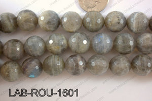 Labradorite Faceted Round 16mm LAB-ROU-1601