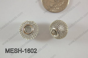 Mesh Bead 16mm 10 pcs MESH-1602