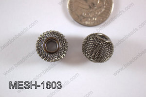 Mesh Bead 16mm 10 pcs MESH-1603