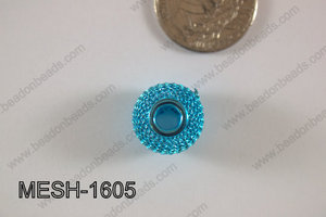 Mesh Bead 16mm 10 pcs MESH-1605