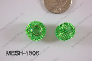 Mesh Bead 16mm 10 pcs MESH-1606