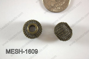 Mesh Bead 16mm 10 pcs MESH-1609