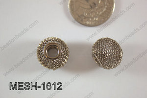 Mesh Bead 16mm 10 pcs MESH-1612