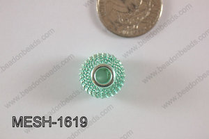Mesh Bead 16mm 10 pcs MESH-1619