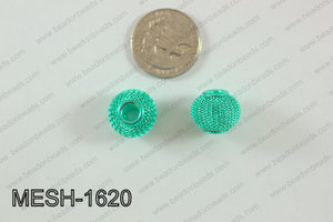 Mesh Bead 10pcs 16mm MESH-1620