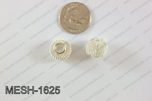 Mesh Bead 10pcs 16mm MESH-1625