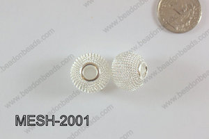 Mesh Bead 20mm 10 pcs MESH-2001