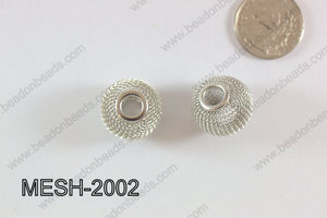 Mesh Bead 20mm 10 pcs MESH-2002