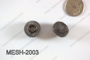 Mesh Bead 20mm 10 pcs MESH-2003