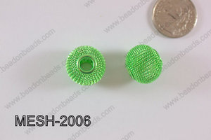 Mesh Bead 20mm 10 pcs MESH-2006