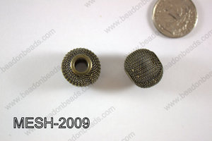 Mesh Bead 20mm 10 pcs MESH-2009