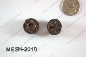Mesh Bead 20mm 10 pcs MESH-2010