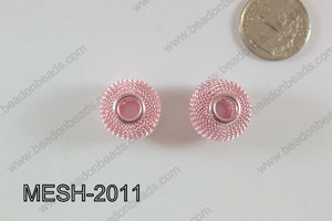 Mesh Bead 20mm 10 pcs MESH-2011