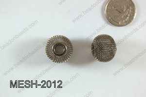 Mesh Bead 20mm 10 pcs MESH-2012