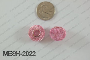 Mesh Bead 10pcs 20mm MESH-2022