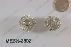 Mesh Bead 25mm 5 pcs MESH-2502