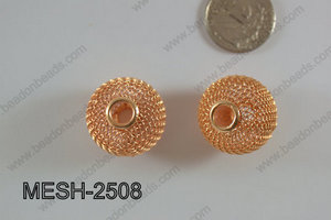 Mesh Bead 25mm 5 pcs MESH-2508