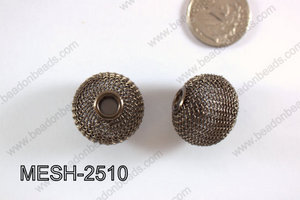Mesh Bead 25mm 5 pcs MESH-2510